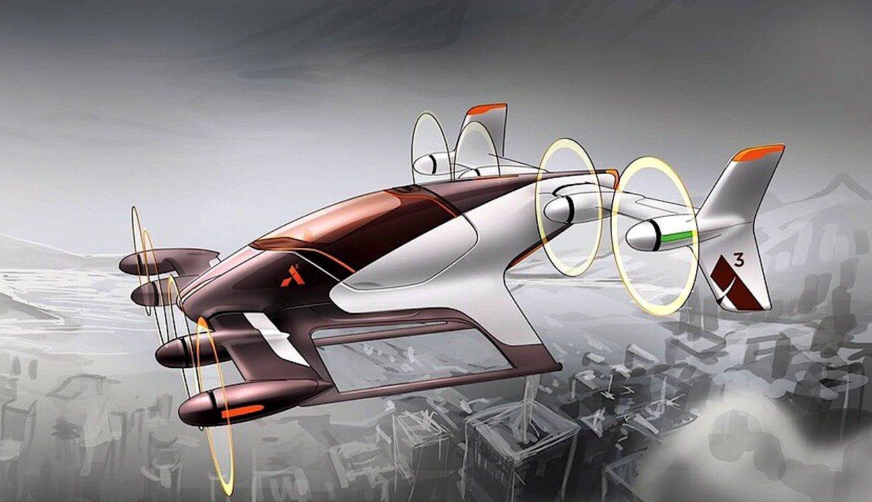 Airbus-Ingenieure in den USA haben jetzt den Entwurf einer Drohne gezeichnet, die im nächsten Jahr als Prototyp gebaut werden soll. Sie soll als Lufttaxi fungieren.