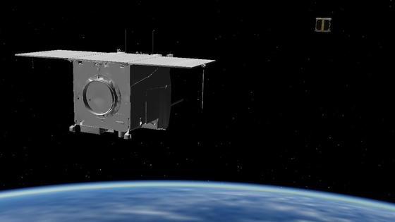 Biros fängt Beesat: Das Experiment Avantisoll zeigen, wie ein Satellit einen Flugkörper im All erkennen und autonom daran heranfliegen kann. Künftig könnten so alte und inaktive Satelliten sowie Weltraumschrott im Weltall eingefangen und auf eine sichere Umlaufbahn gebracht werden.