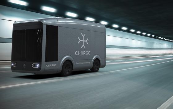 Der Elektro-Truck Charge wird aus ultraleichten Kompositmaterialien gebaut.