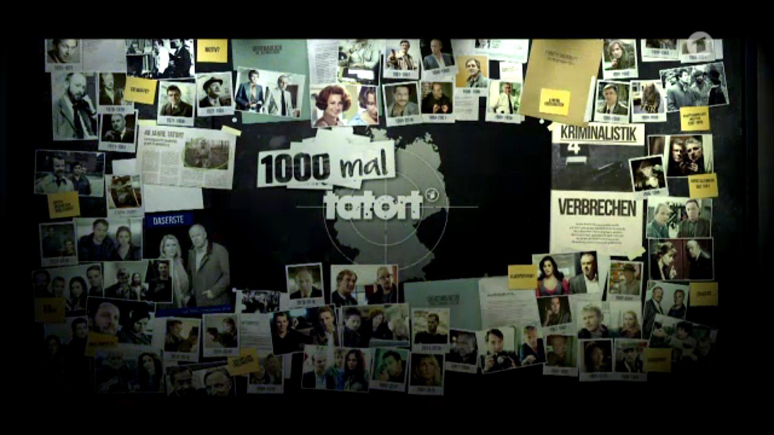 Am Sonntag läuft die 1000. Folge des Tatort: In einigen spielten auch Ingenieure eine Rolle – als Opfer, Täter oder Verdächtiger.