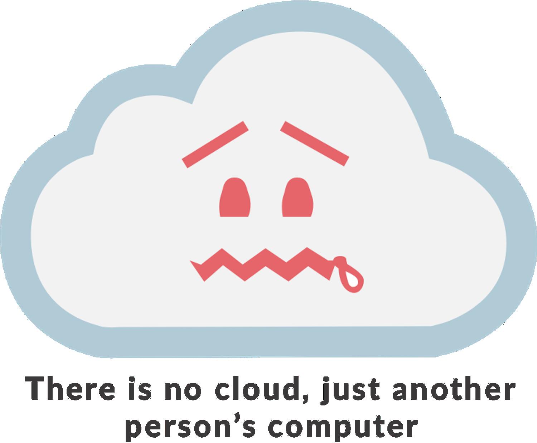Motto von Daplie: Es gibt keine Cloud, sondern nur den Computer eines Anderen.