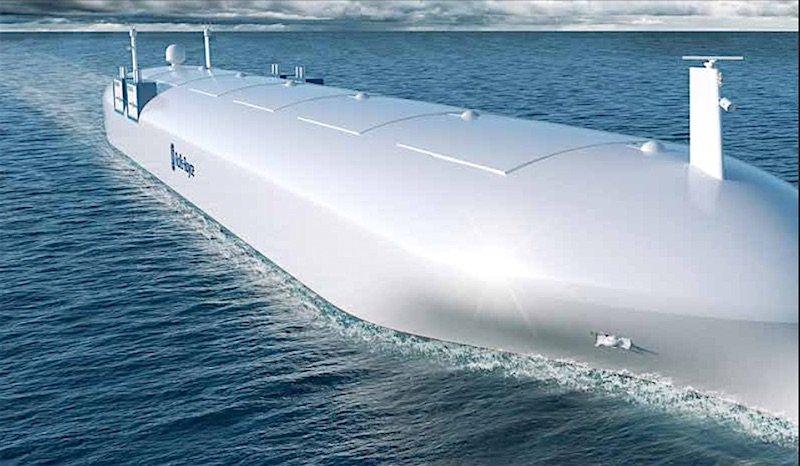 Bei der Entwicklung ferngesteuerter, autonomer Schiffe gilt Rolls-Royce als Pionier.
