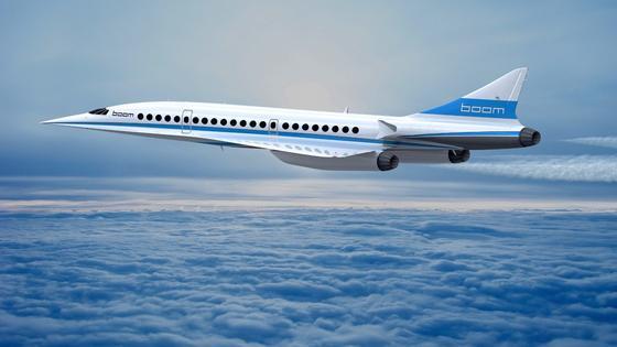 Schon 2017 soll ein Prototyp des Überschallflugzeuges Boom XB-1 abheben. Der Serienflugverkehr soll 2023 beginnen, genau 20 Jahre nach der Einstellung des französischen Überschallflugzeugs Concorde. Dazu will auch Virgin-Galactic-Gründer Richard Branson beitragen, der sich an der Entwicklung des Jets beteiligt.