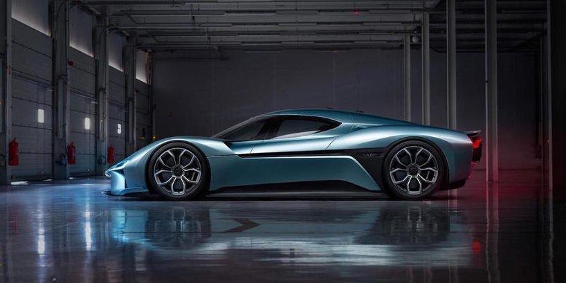 Nio EP9: Das schnellste Elektroauto der Welt
