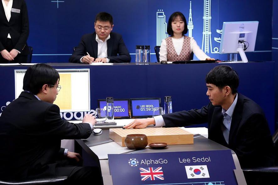 Im fünften Spiel gab Weltmeister Lee Sedol nach 280 Zügen auf. Die Software gewann das auf fünf Partien angesetzte Match 4:1.