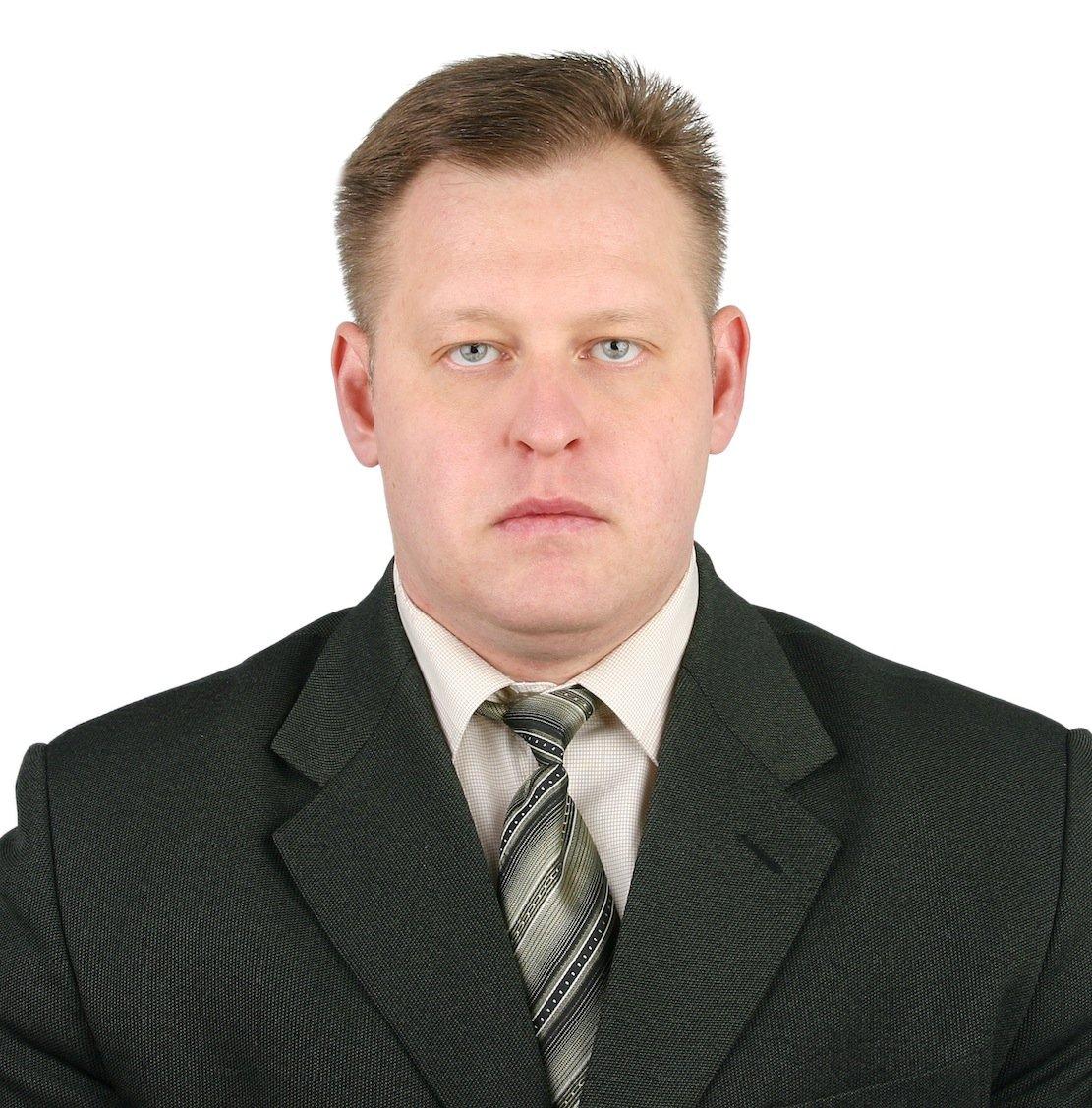 Atomexperte Alexander Pavlyuk der russischen Atomenergiebehörde Rosatom.