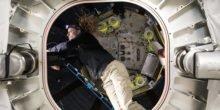 Der aufgepumpte ISS-Anbau Beam macht sich gut