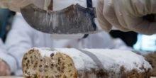 Warum dem Christstollen eine Wärmedusche gut tut
