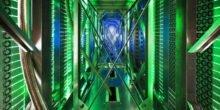Ein Internet-Server im Keller beheizt ein ganzes Haus