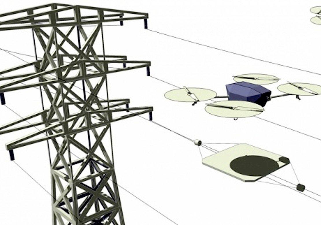 Bei Überwachungsaufgaben von Drohnen könnten induktive Ladestationen so installiert werden, dass die Drohnen länger oder sogar dauerhaft in der Luft bleiben können.