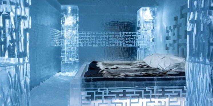 Ein Hotel aus Eis: Schlafen in einem gefrorenen Bett - ingenieur.de