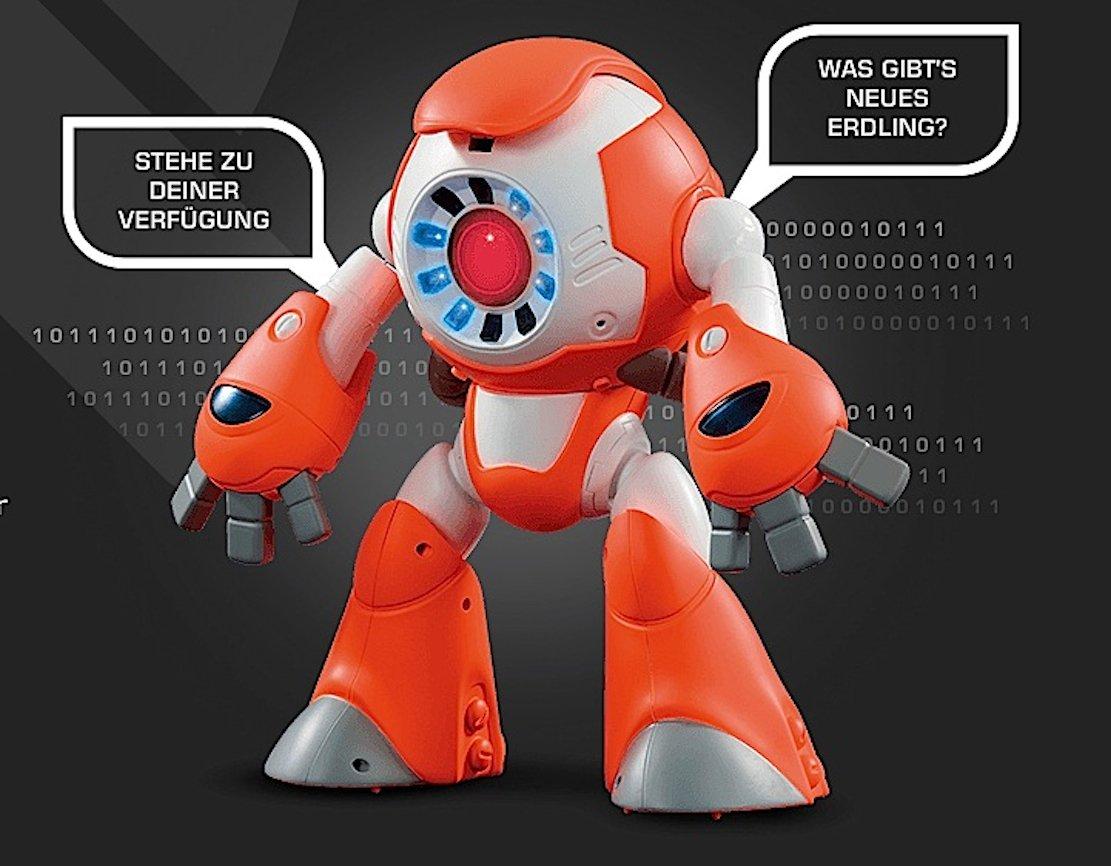 Auch der Spielzeugroboter i-Que ist in die Kritik geraten: Auch er ist mit dem Internet verbunden und kann Kinderzimmer ausspionieren, so die Befürchtung von Verbraucherschützern.