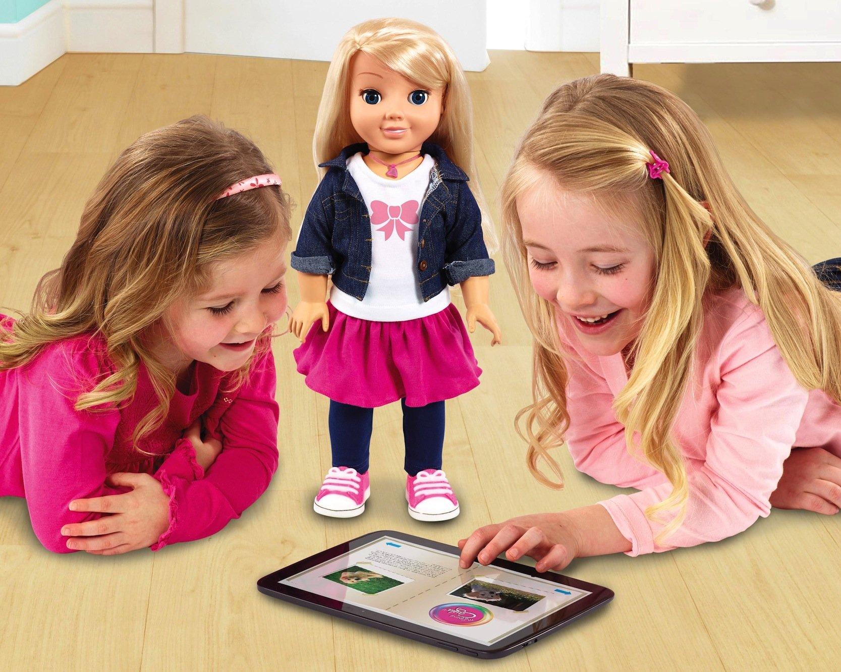 Schöne neue Kinderwelt: Die Puppe Cayla ist mit dem Internet verbunden – und die Kinder können über eine App mit der Puppe per Smartphone und Tablet kommunizieren.