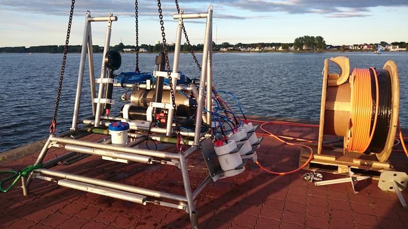 Das Zooplankton-Observatorium wird zum ersten Mal an der Warnow getestet.
