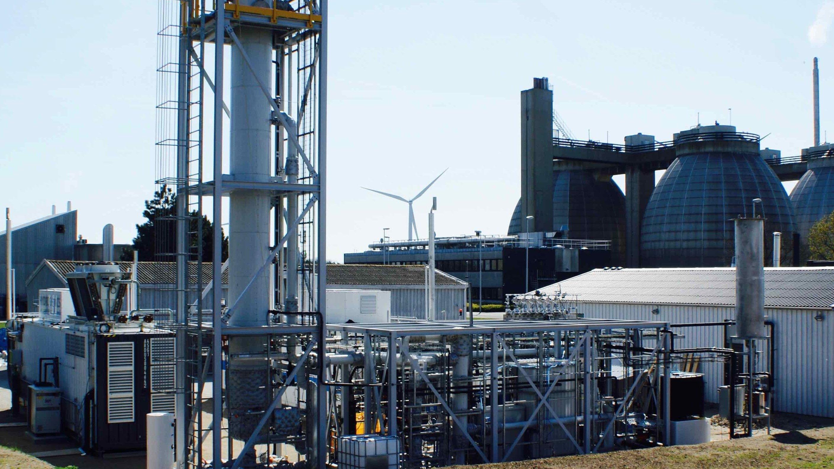 Im dänischen Avedørehat Electrochaeabereits eine kleinere Anlage gebaut und gezeigt, dass die Technik funktioniert.