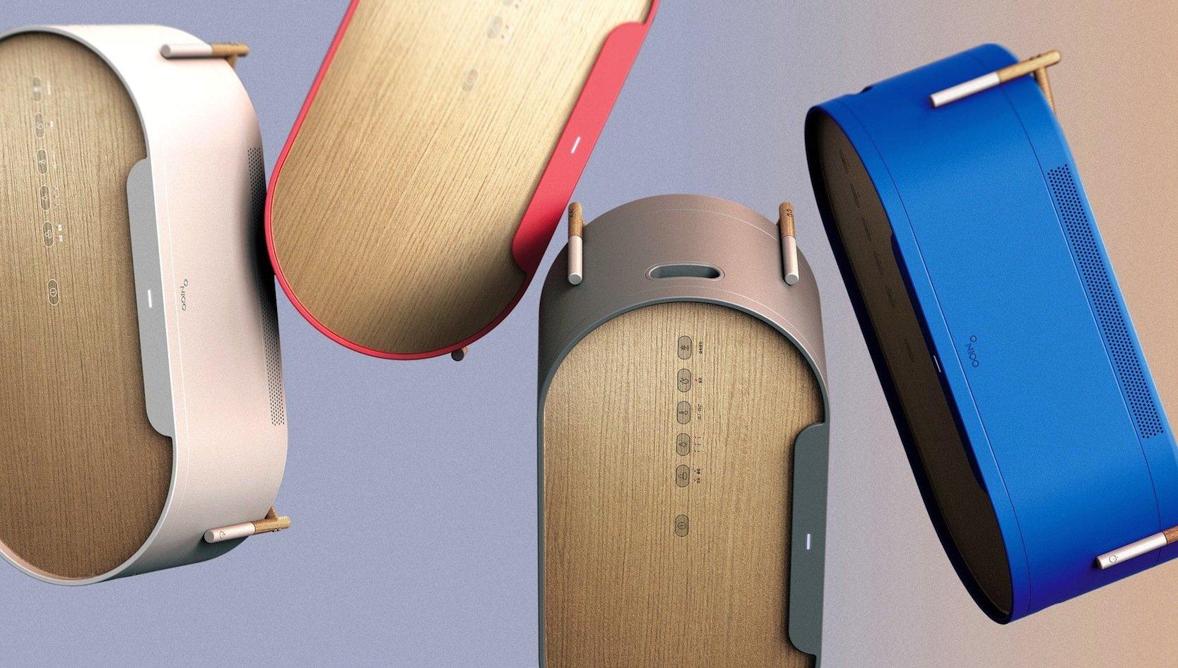 Die Kühlbox Ooino gibt es in verschiedenen Farbdesigns.