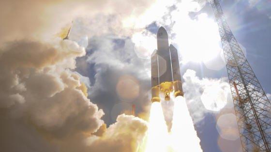 Am 17. November startete eine Ariane 5 der ESA mit vier Galileo-Satelliten ins All. Jetzt sind auch diese vier Satelliten einsatzbereit, Galileo nimmt an diesem Donnerstag seinen Betrieb auf.