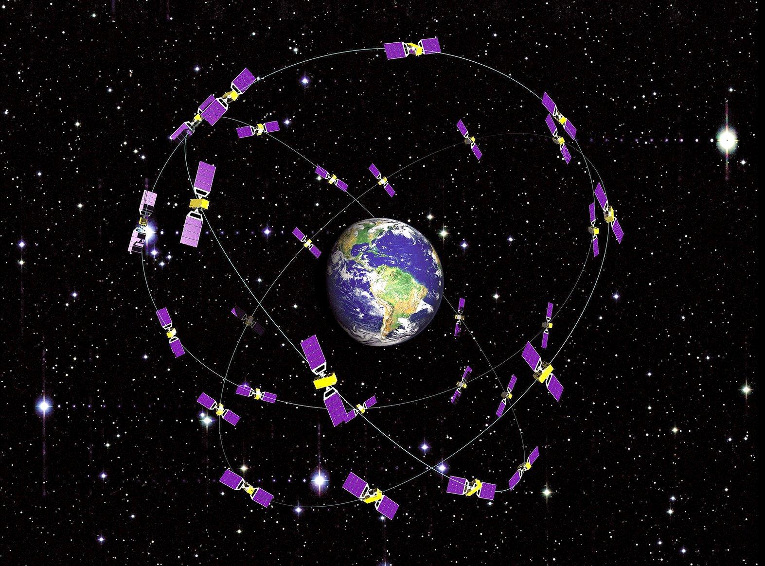 Das Galileo-System beruht auf einer Konstellation von 30 Navigationsatelliten im Vollausbau.