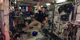 Wieviel kosmische Strahlung bekommen Astronauten ab?