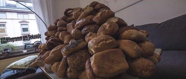 In jeder Sekunde werden in Deutschland 313 Kilogramm Lebensmittel einfach weggeworfen und nicht gegessen.