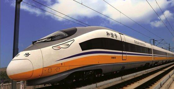 China will bis 2020 sein Schienennetz für Schnellzüge um 11.000 km erweitern. Die Kosten betragen480 Milliarden Euro.