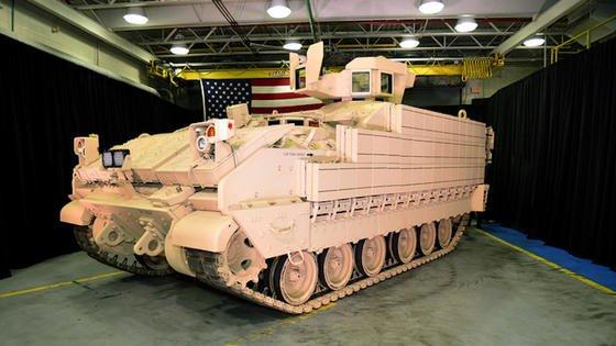 ImDezember 2016 präsentierte BAE Systems das erste für die US Army fertiggestellte Mehrzweck-Kampffahrzeug AMPV (Armored Multi-Purpose Vehicle).