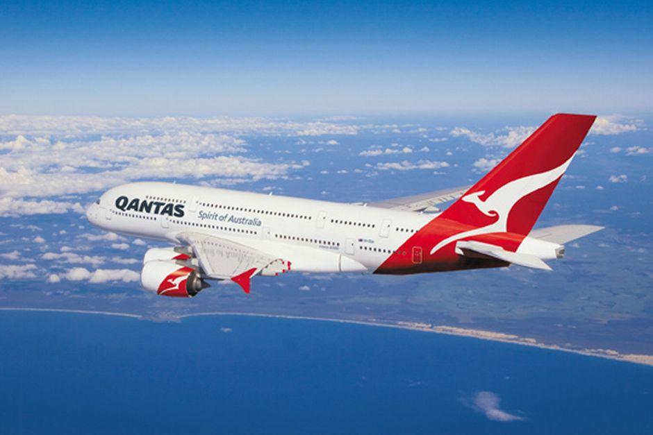 Auf dem Ruder von Quantas-Maschinen prangt - wie sollt es anders sein - ein Känguru.