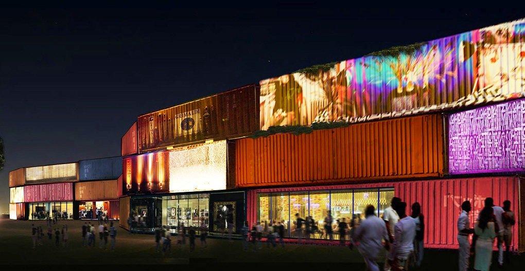 Selbst Ladenpassagen als Grenze können sich die Architekten aus Miami vorstellen.