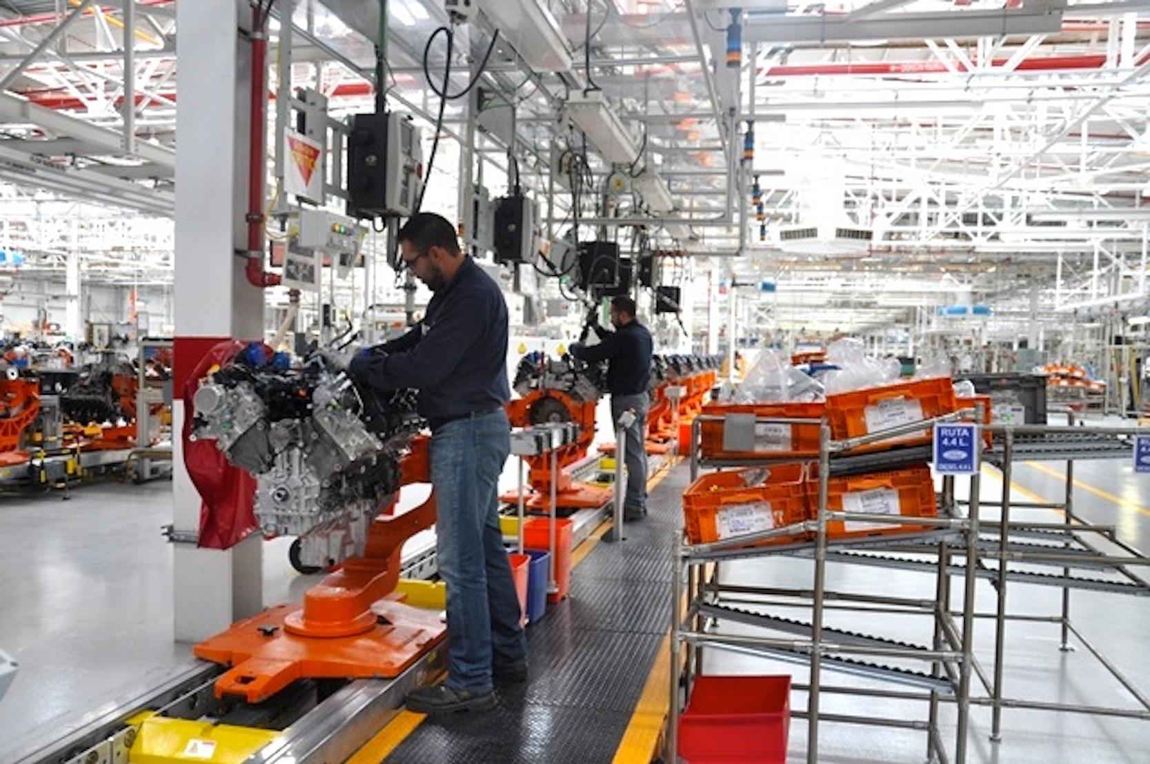 Motorenproduktion für Ford in Mexiko: Ursprünglich wollte Ford 1,6 Milliarden Dollar in ein neues Werkim mexikanischen San Luis Potosi investieren.