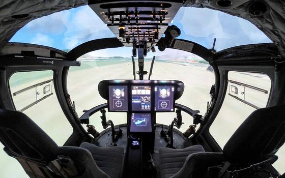 Ingenieure der TU München haben ein Simulationsprogramm entwickelt, das Hubschrauberpiloten optimal auf Extremsituationen vorbereiten soll.Erstmals berücksichtigt es auch Strömungsmechanik und Flugdynamik in Kombination.