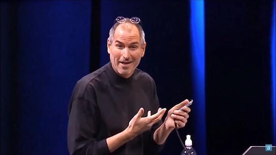 """""""Das ist ein Telefon"""", jubelt Apple-Gründer Steve Jobs heute vor zehn Jahren, als er das erste iPhone präsentiert. Gerade erst hat er die Navigationsfunktion vorgestellt – und ist sichtlich selbst begeistert, was sein Gerät alles kann."""