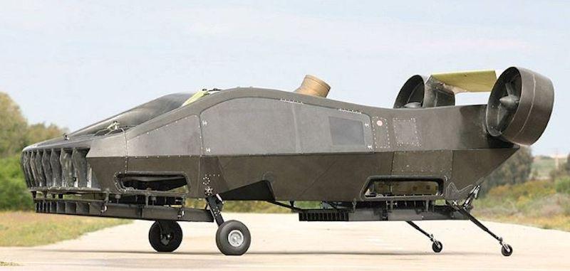 In dem Cormorant, vormals Air Mule, stecken 15 Jahre Entwicklungsarbeit.