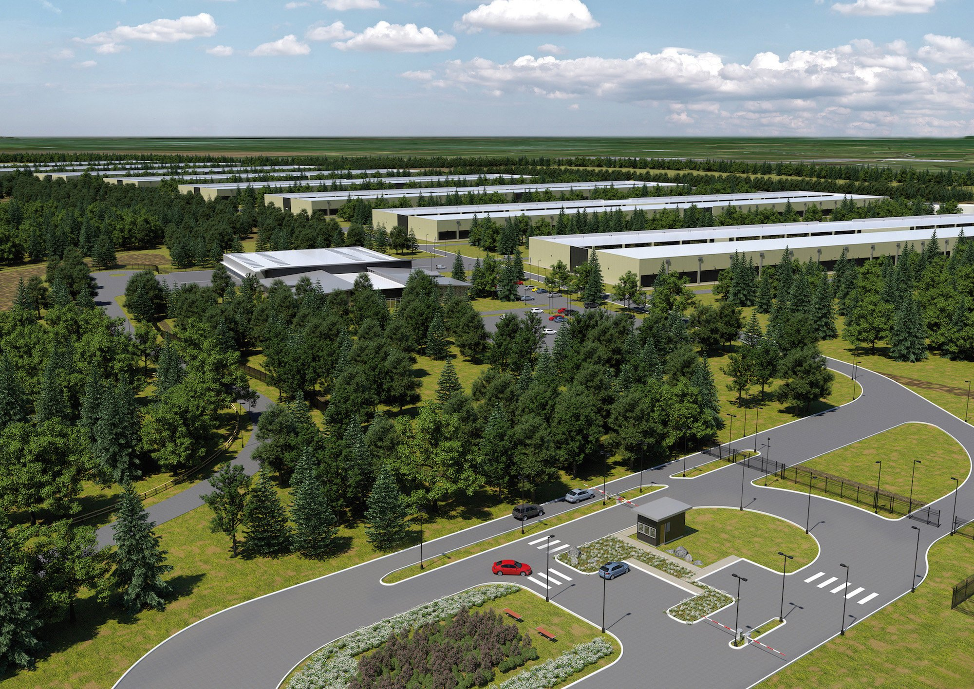 Apple wird künftig seine Cloud-Dienste füreuropäische Kunden aus zwei neuen Rechenzentren in Europa zur Verfügung stellen. Für den Bau und Betrieb der beiden Anlagen in Dänemark und Irland (Grafik) werde man 1,7 Milliarden Euro investiert.