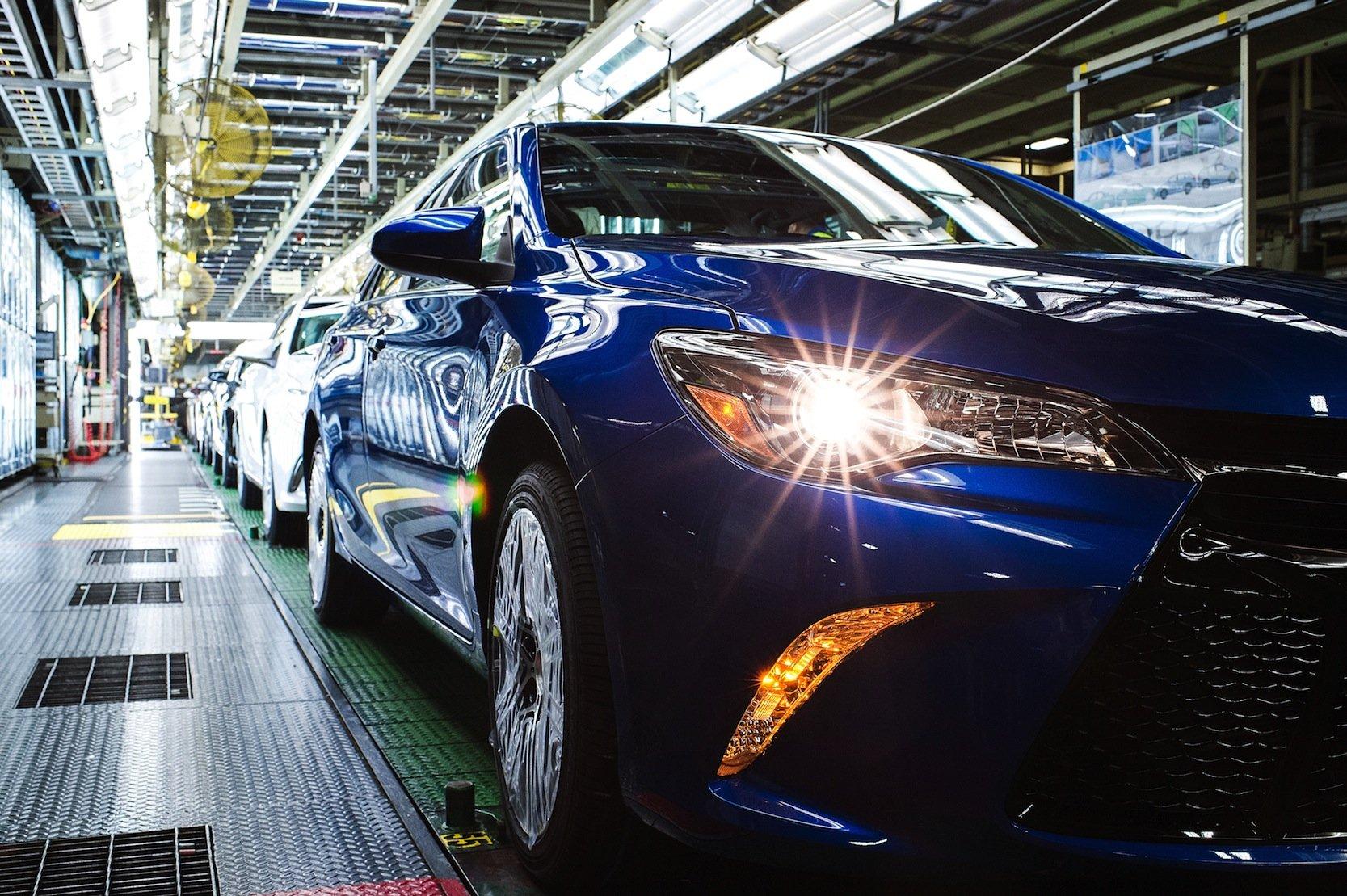 Produktion des ToyotaCamry in den USA: Es ist das Auto mit dem höchsten US-Anteil.
