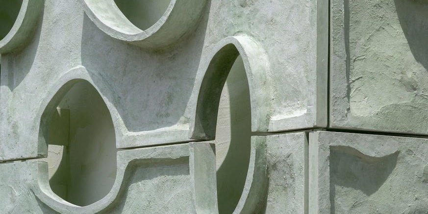 Diese Fassade sieht aus wie Titan unterm Mikroskop