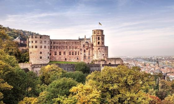 Der französische Sonnenkönig Ludwig XIV. ließ die Wehranlagen des Schlosses Heidelberg sprengen.