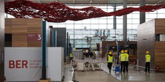 Bitte nicht lachen: Im Flughafen Berlin sind die Wasserrohre zu dünn