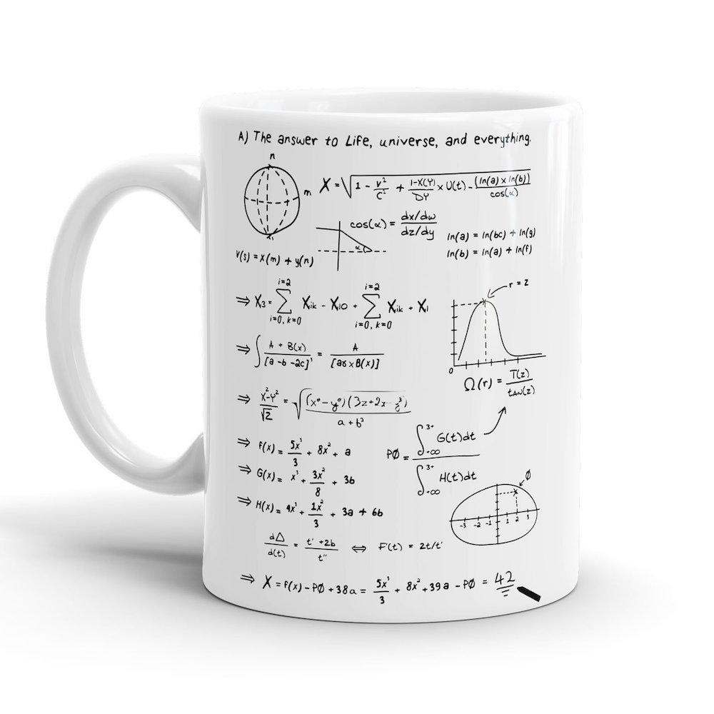 Das Nerd-Motiv macht diesen Kaffeebecher zu etwas Besonderem.