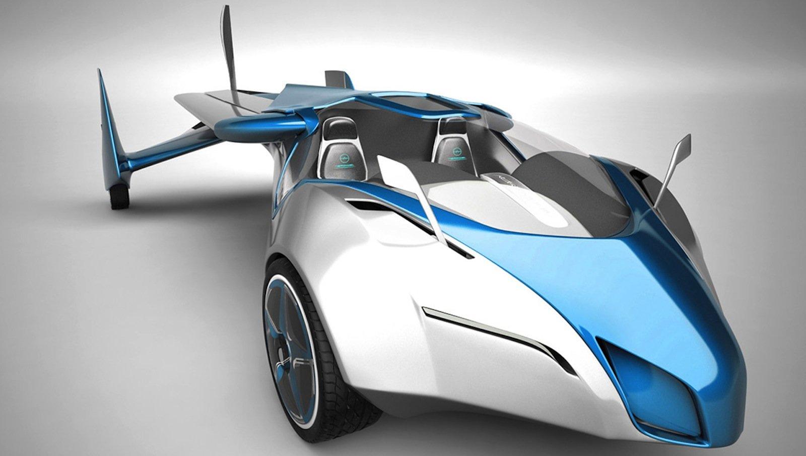 Kann auch fliegen: das Aeromobil des slowakischen Ingenieurs und Industriedesigners Stefan Klein.