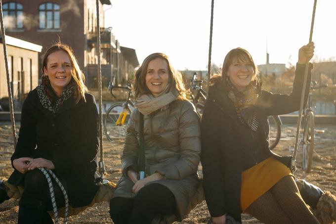 Das tex–lock-Team:Katja Käseberg, Alexandra Baum, Suse Brand.