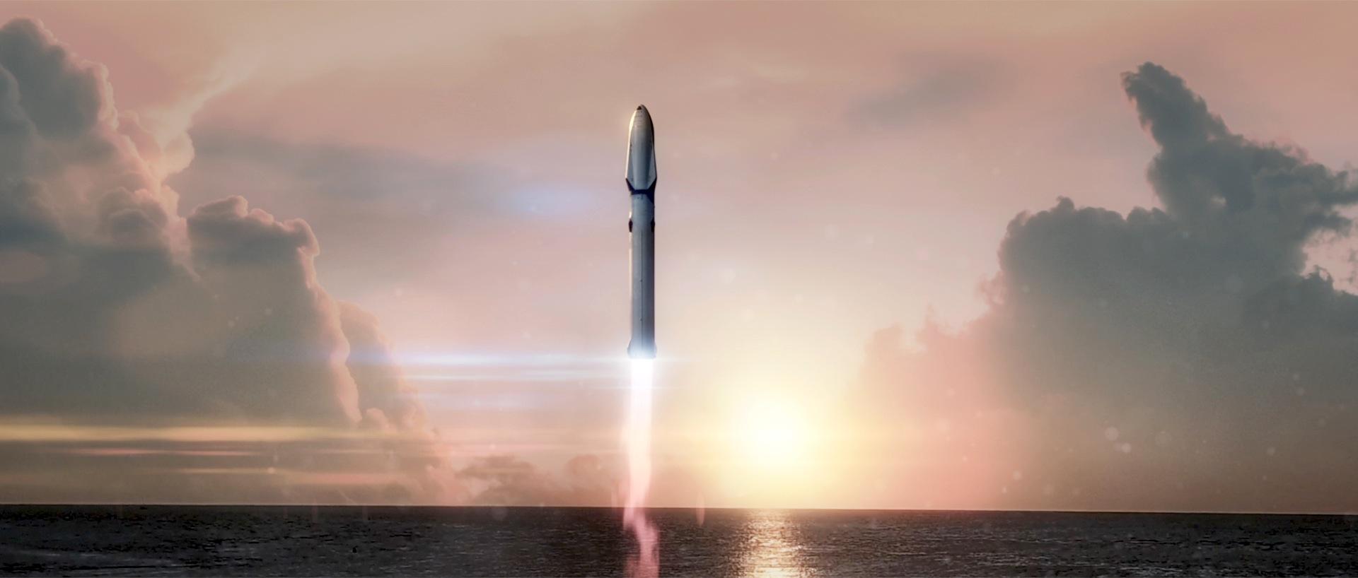 SpaceX plant mehrere Flüge zum Mond.