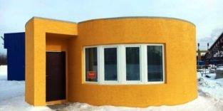 Haus für nur 10.000 Dollar in 24 Stunden ausgedruckt