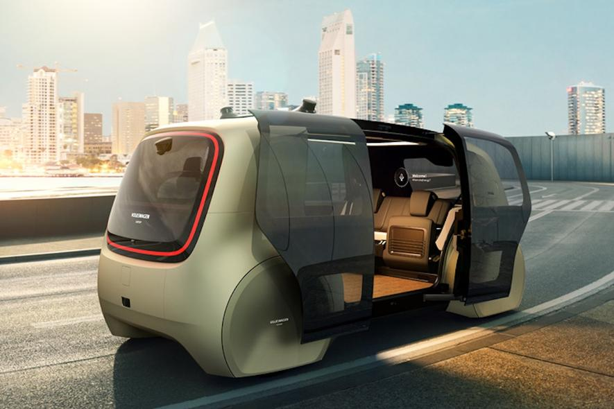 Mit VW Sedric können auch Kinder Auto fahren