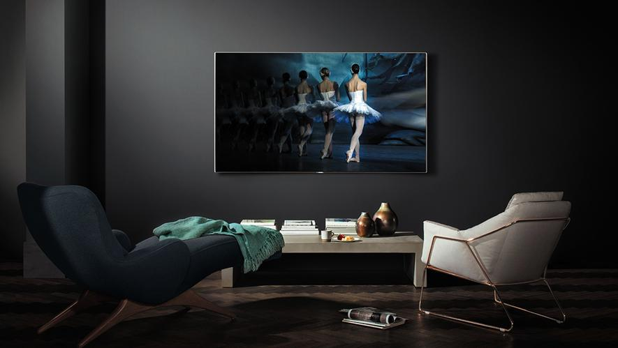 samsung macht den fernseher zum gem lde an der wand. Black Bedroom Furniture Sets. Home Design Ideas