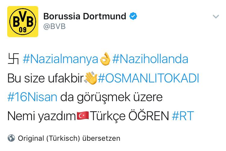 Gehackter Twitter-Account von Borussia Dortmund: Gerade erst machen türkische Hacker mit einem spektakulären Hack von sich reden.
