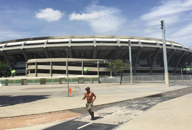 DasMaracanã -Stadion in Rio de Janeiroist derzeit geschlossen und in einem desolaten Zustand.