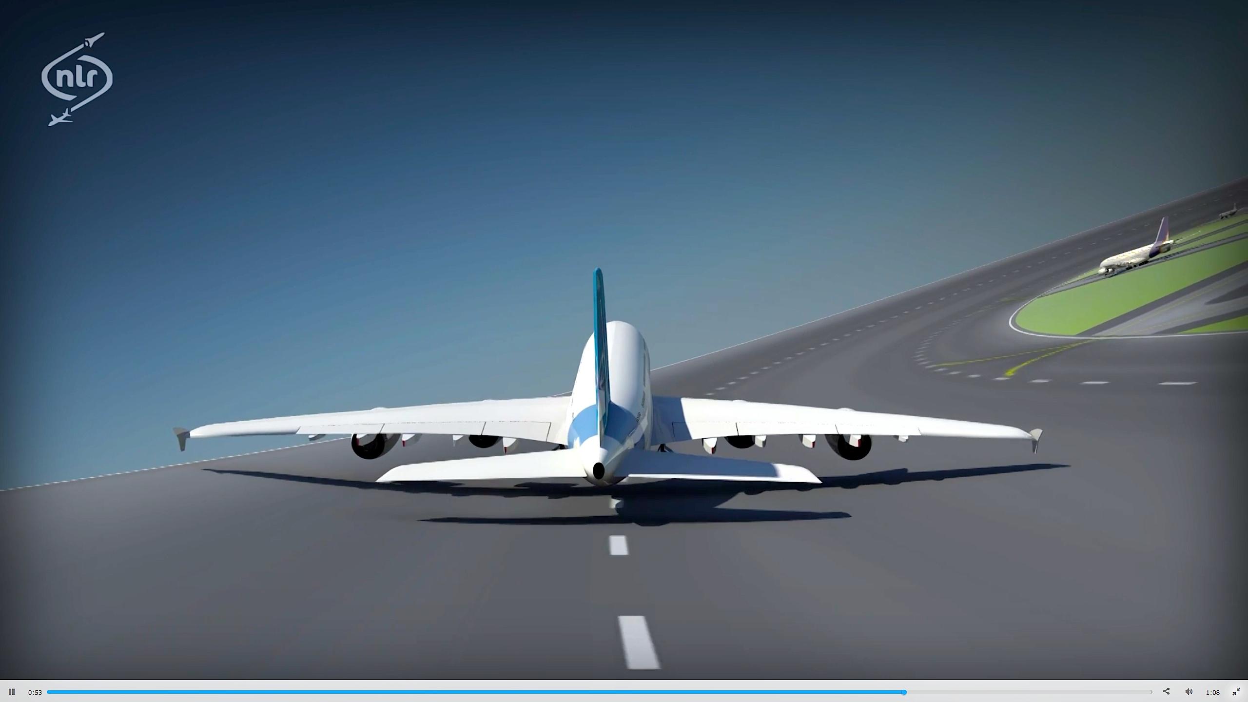Derzeit simulieren die niederländischen Forscher, wie sich der Flugverkehr des Großflughafen Charles de Gaulle auf einem runden Airport bewältigen ließe.