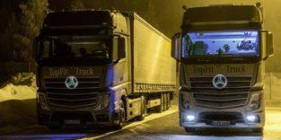 Licht im Fahrerhaus sorgt für bessere Stimmung bei Lkw-Fahrern
