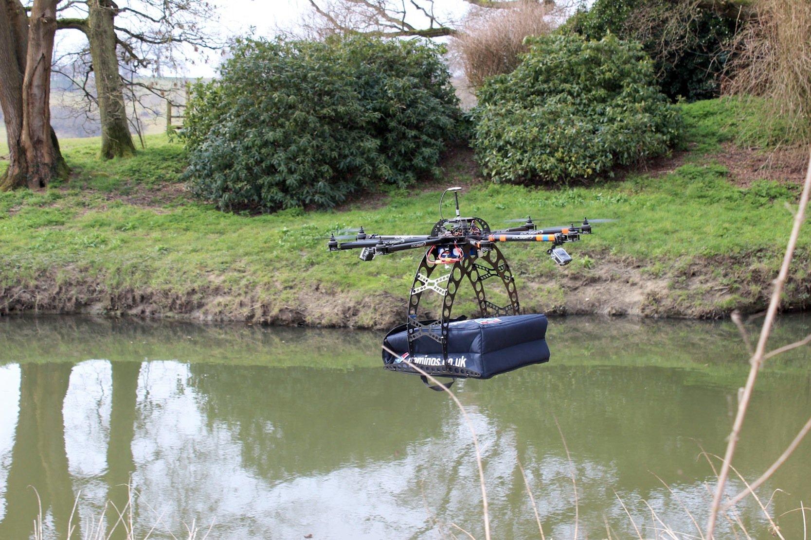 In Neuseeland hatDomino's auch schon die Zustellung von Pizzen per Drohne ausprobiert.