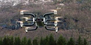 Neue Schwerlast-Drohne Griff 300 fliegt mit 225 kg